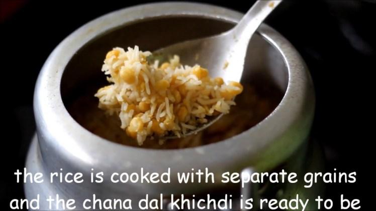 Chana dal khichdi recipe – Easy punjabi chana dal khichdi recipe