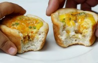 Cheesy Biscuit & Egg Breakfast Cups – Tasty Junior