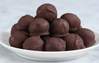 Dark Chocolate Peanut Butter Balls