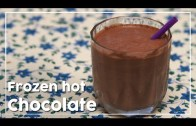 Frozen Hot Chocolate – Cold Beverage Recipe – My Recipe Book By Tarika Singh