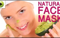 Natural Face Mask using Avocado and Green Tea