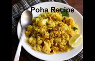 Potato Poha Recipe – How to make aloo poha or batata poha recipe