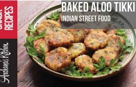 Baked Aloo Mutter Tikki Recipe – Indian Snack Recipes By Archana's Kitchen