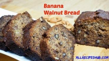 Banana Walnut Bread Recipe – How to Make at home