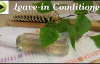DIY Leave – In Conditioner