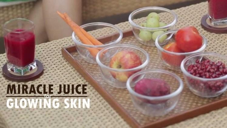 Glowing Skin Juice Recipe With Suman Agarwal – Healthy Juice Recipe – Glamrs
