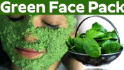 Green Face pack – Get Clear Glowing Skin Naturally