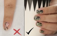 How To Apply Glitter Nail Polish – Nail Painting Tips