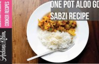 One Pot Aloo Gobi Sabzi Recipe Using Electric Pressure Cooker by Archana's Kitchen