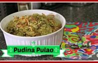 Pudina Pulao – Mint Flavored Rice – Quick Fix Lunch Recipe
