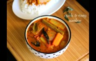 Sambar recipe – Vegetable sambar recipe – Quick mixed veg sambar recipe
