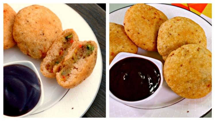 Sooji – Rava Kachori – Indian Vegetarian Vegan Snack