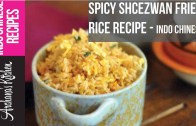 Spicy Schezuan Indo Chinese Egg Fried Rice – Indo Chinese Recipe by Archanas Kitchen