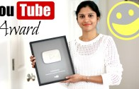 Youtube Silver Play Button – 100000 Subscribers Award