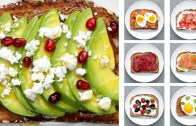 12 Energy – Boosting Breakfast Toasts