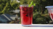 Blackberry Tequila Punch