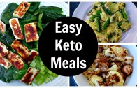 Easy Keto Meals – Full Day of Low Carb Ketogenic Diet Eating