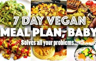 7 DAY VEGAN CHALLENGE MEAL PLAN – Easy, go-to recipes