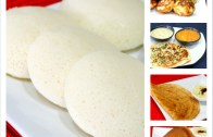 All in One Batter – How to Prepare Idli / Dosa Batter Recipe – South Indian Breakfast