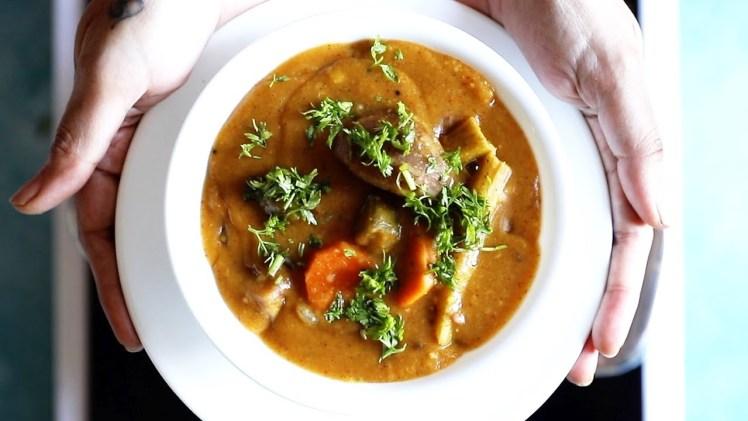 Hotel style sambar recipe for idli, dosa or rice – Tiffin sambar recipe