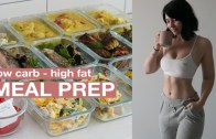 MEAL PREP WITH ME: Low carb for keto – Mains + Snacks + Breakfast