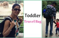 Toddler Travel Bag Tips – What's in my toddler bag?