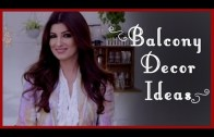 Balcony Decoration Ideas (Garden Ideas) by Twinkle Khanna