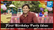 First Birthday Celebration in Bangalore – Birthday Party Ideas – Vikas Khanna