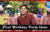 First Birthday Celebration in Bangalore – Birthday Party Ideas – Vikas Khanna