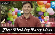 First Birthday Celebration in Mumbai – Birthday Party Ideas – Vikas Khanna