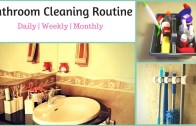 How To Clean a Bathroom- Bathroom Cleaning Routine