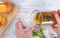 Lipton Fresh Brewed Iced Tea – Peach Mint Lemon Iced Tea