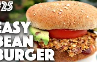 EASY GLUTEN FREE VEGAN BURGER -25 – 30 Videos in 30 Days – Cheap Lazy Vegan