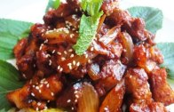 Korean spicy stir-fried pork – Jeyukbokkeum:제육볶음