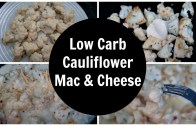 One Pan Cauliflower Mac and Cheese For One – Low Carb – Keto Diet Recipe