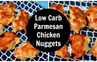 Parmesan Chicken Nuggets – Low Carb0 – Keto Diet Recipe