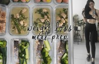 Simple Low Carb Meal Prep – What I Eat to Stay Lean & Healthy – Lunch, Dinner & Snacks