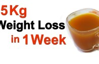 How To Lose 5kg in One Week – Get Fastest And Healthiest Way To Lose Weight
