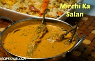 mirchi ki salan – hyderabadi mirchi ki salan – Best side dish for veg biryani