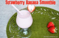 Strawberry Banana Smoothie & Bloopers – Healthy Breakfast Ideas