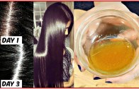 Apply This  Mixture On Your Scalp to Get Rid of Dandruff For Ever – Anti-Dandruff Home Remedy