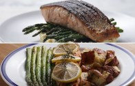 Easy Vs. Gourmet: Salmon Dinner