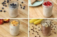 Kid-Friendly Overnight Oats 4 Ways