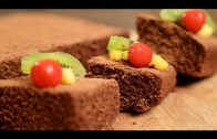 Simple Chocolate Sponge Cake Recipe – Quick & Easy Dessert Recipe | Beat Batter Bake With Upasana