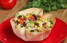Tortilla Bowl Southwestern Salad
