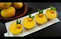 Eggless Mango Mousse – Eggless Recipe | Mango Recipes | No Gelatin Dessert Recipe by Ruchi Bharani