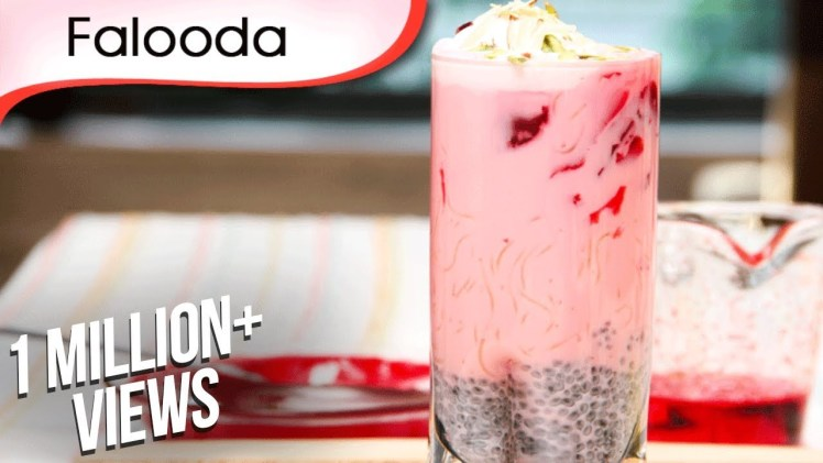 Falooda – Refreshing Cold Beverage – Sweet Dessert Recipe By Ruchi Bharani