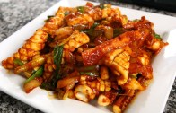 Spicy Stir-fried Squid – Ojingeo-bokkeum: 오징어볶음 – 10th Anniversary Special!