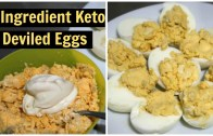 2 Ingredient Keto Deviled Eggs Recipe