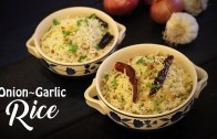 2 Quick and Easy Rice Recipes – Onion Rice – Garlic Rice – Ventuno Home Cooking